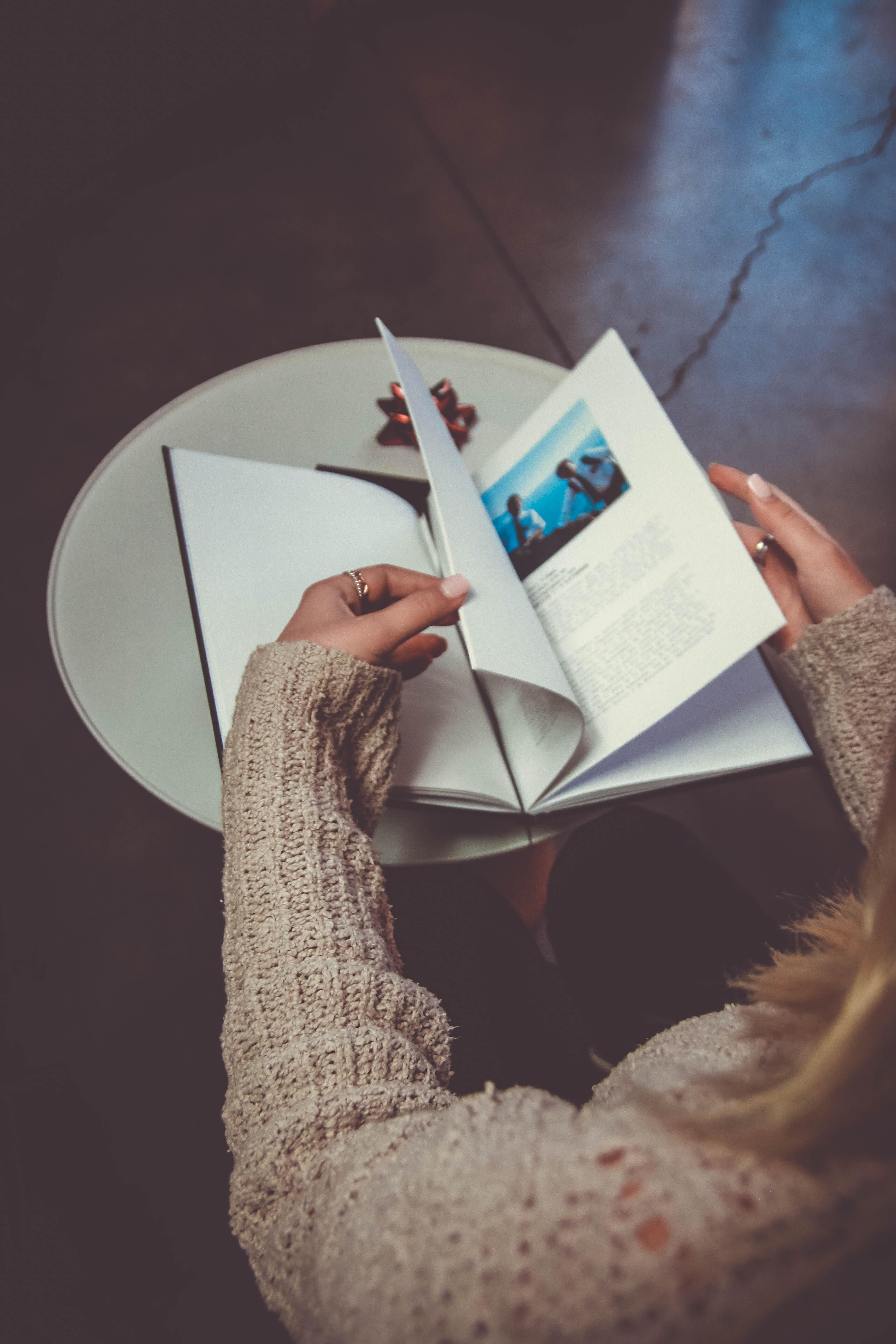En fotobog er den perfekte gave